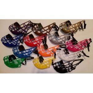 PVC - dostihový košík GREY / NEW COLORS