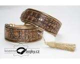 Crocodile Bronze Half