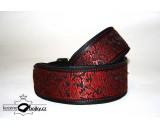 Brokade red LUXURY II