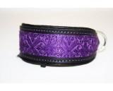 Brocade Purple dark / black