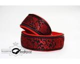 Brocade red Luxury III