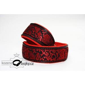 Brocade red III